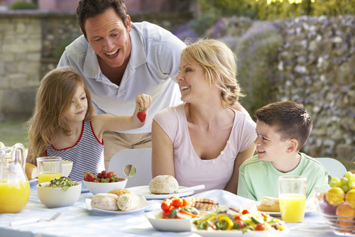 almoco de familia
